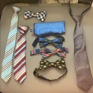 Youth ties and bow ties